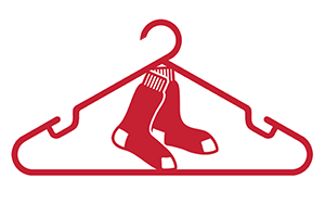 hung by Boston Red Sox