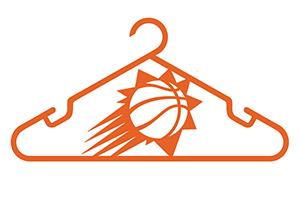 hung by Phoenix Suns